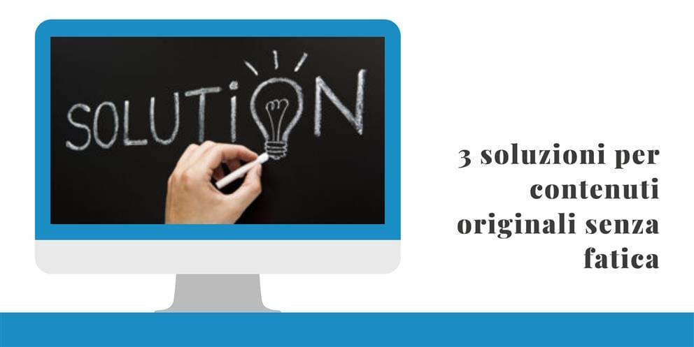 Soluzioni Per Contenuti Originali